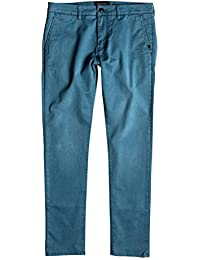 Quiksilver Krandy - Pantalones chinos para Hombre, Color: INDIAN TEAL, Talla: 38