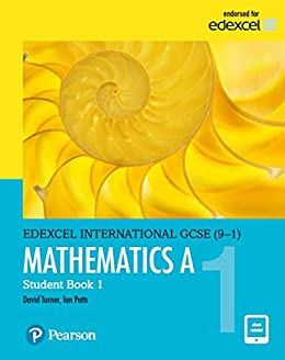 Pearson Edexcel International GCSE (9-1) Mathematics A Student ...
