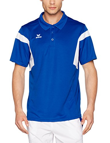 Erima Herren Classic Team Poloshirt new royal/Weiß