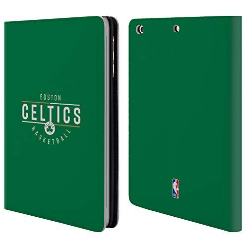 Head Case Designs Offizielle NBA Logotyp 2018/19 Boston Celtics Brieftasche Handyhülle aus Leder für iPad Mini 1 / Mini 2 / Mini 3 Boston Celtics Mini