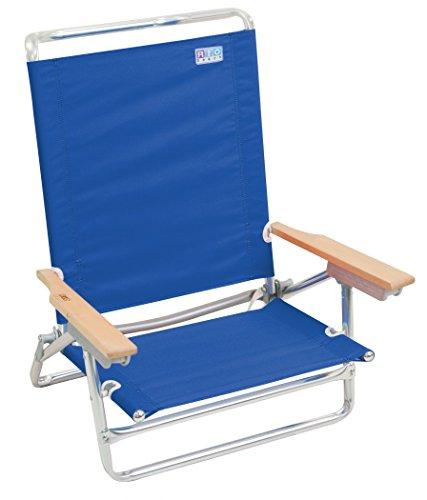 Rio Marken 5Position Classic die Strand Stuhl, Pacific Blue (Rucksack Rio Stuhl)