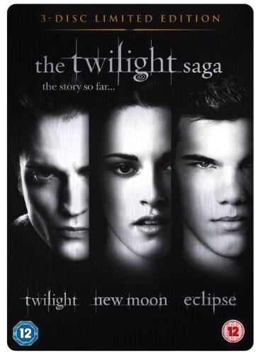 The Twilight Saga Triple Pack  3 Disc Limited Edition Steelbook   DVD