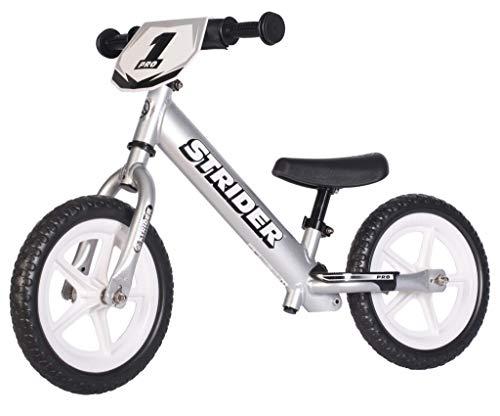Strider 12 Pro Balance - Bicicleta sin Pedales Ultraligera - para niños de 18 Meses, 2,3, 4 y 5 años...