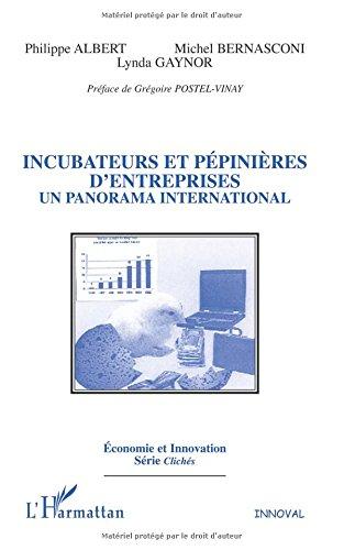Incubateurs et pépinières d'entreprises : un panorama international