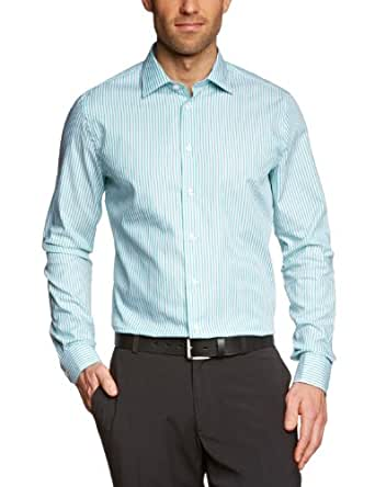 Arrow Herren Businesshemd Slim Fit 189981/71 Kent 1/1 T102, Gr. 38, Grün (71)
