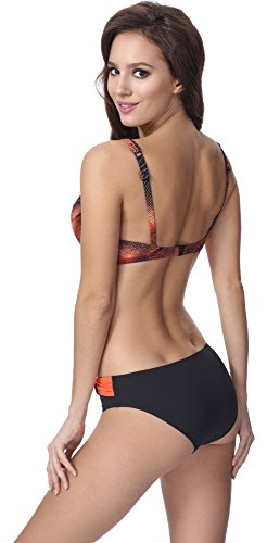Feba Figurformender Damen Push Up Bikini F01 Muster-315