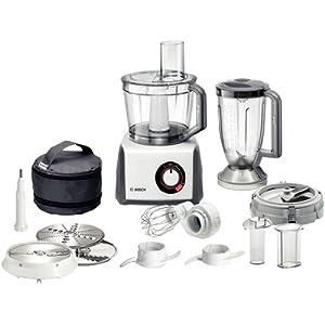 Bosch MCM64085 – Robot de cocina, 1200 W, capacidad de 3.9 litros, color blanco Home Page