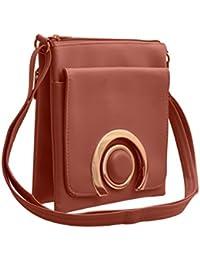 JFL Trendy Sling Bag For Womens/Girls With Adjustable Strap.