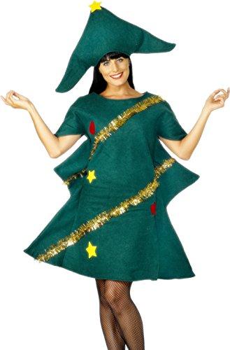 Imagen de smiffy's  disfraz de árbol de navidad para mujer, talla única sm28265