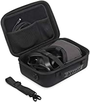 JSVER Travel Case for Oculus Quest Hard Shell EVA All-in-one VR Gaming Headset Case Carrying Protective Box wi