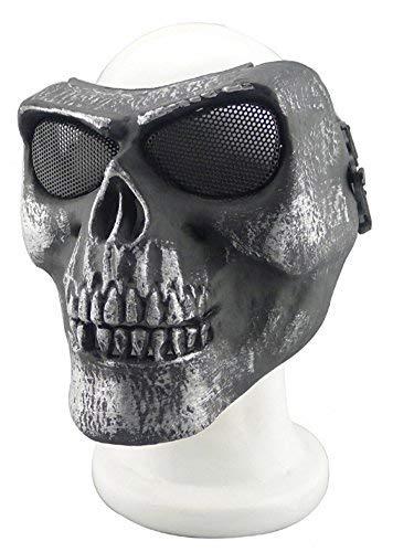 Radfahren/Halloween/Paintball, Totenkopf/Skelett, 012765, 22YH ()