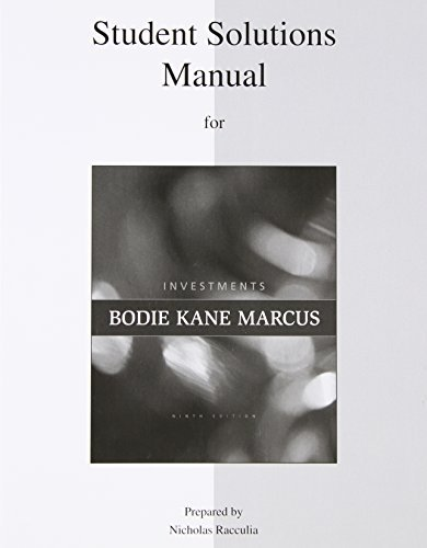 Investments by Zvi Bodie (2010-09-28)