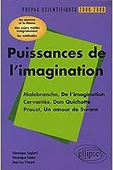 Puissances de l'imagination Malebranche-Cervantès-Proust : L'épreuve de français Conseils pratiques/Corrigés Broché