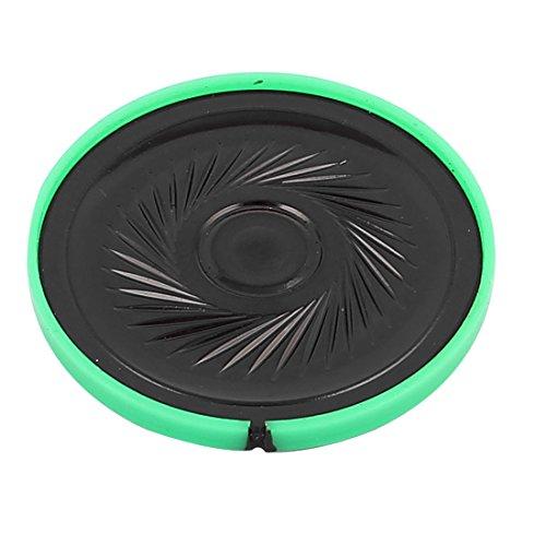 sourcingmap® Plastik Gehäuse 40mm 16 Ohm 0,25W interner Magnet Lautsprecher Horn grün