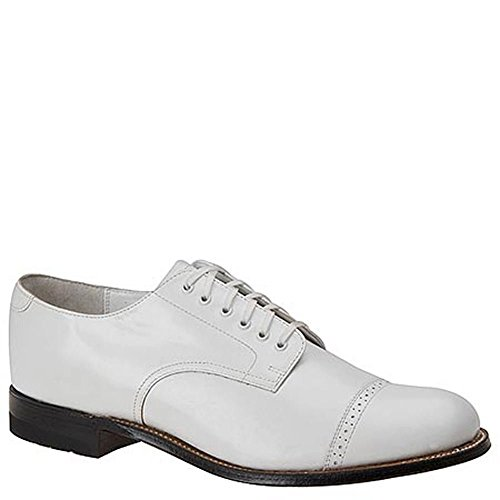 Stacy Adams Madison Large Cuir Oxford white