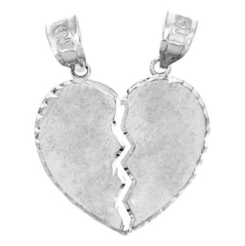argent-sterling-925fini-satin-cur-secable-charm-pendentif-2cm