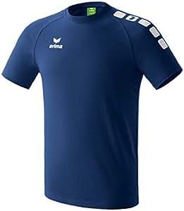 erima Kinder T-Shirt 5-Cubes Promo, New Navy/Weiß, 116, 608500