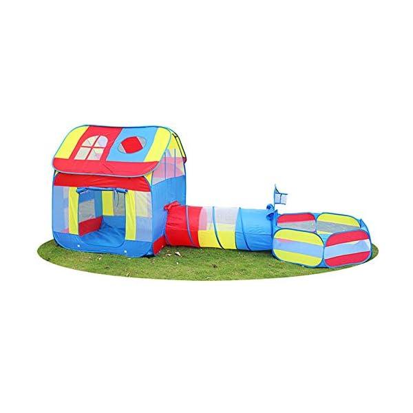 Arredamento e forniture scuola prima infanzia Indoor/Outdoor Play Tunnel e Play Tent Playground per Bambini Baby Giocattoli per Bambini Tenda Tunnel Casette giocattolo