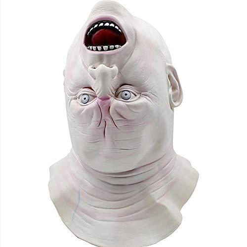re Fantasma Grido Kopf Giù Maske Halloween Puntelle Maske Fantasma Kopfbedeckung ()