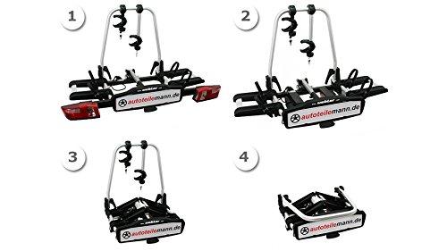 Uebler 15760 Anhängerkupplungsträger X21-S für 2 Fahrräder - 3