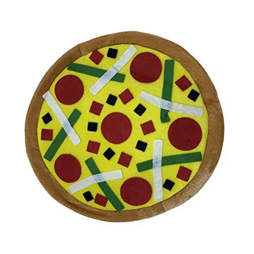 Amosfun Pizza Form Hut Kostüm Party Cap Kopfbedeckung Cosplay Kostüm Zubehör Foto Prop für Urlaub (Pizza Hut Kostüm)
