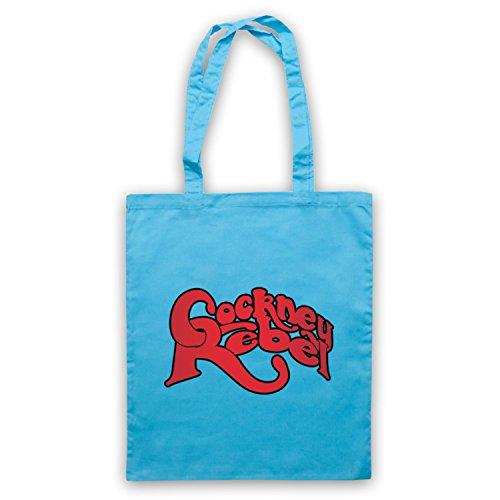 Inspiriert durch Cockney Rebel Logo Inoffiziell Umhangetaschen Hellblau