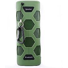 [Multifonction Enceinte 10W Bluetooth 4.0]étanche IP65 Haut-parleur Stéréo 10W Antipoussière Antichoc fonctionnement NFC Bluetooth Transmission 10M Potable Légère Parfait pour Voyage/Camping Soirée/Randonnée etc.