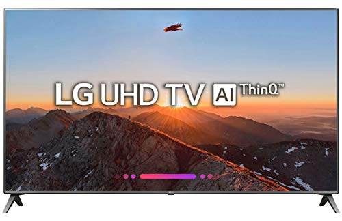 LG 139.7 cm (55 inches) 55UK6500PTC 4K UHD LED Smart TV (Black)