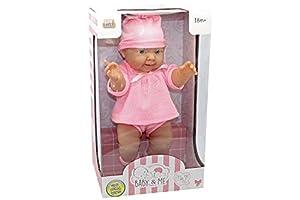 Kidz Corner Baby & Me Bebè de pie Deluxe 35cm, Multicolor, 438771