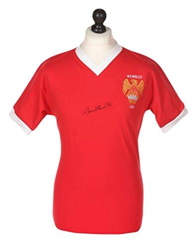 Bobby-Charlton-Signed-Shirt-Autograph-Manchester-United-1958-Jersey-Memorabilia