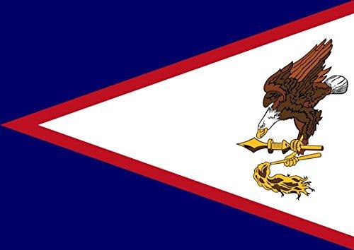 Flagge von Amerikanisch-Samoa Best Farbe Foto Bild Einzigartige Print A3Wand Poster (Amerikanische Flagge Wand Poster)