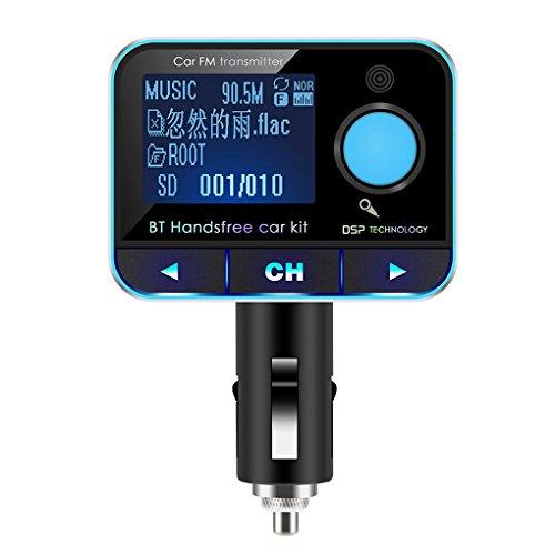 QHGstore Senza fili Bluetooth 2 USB MP3 Porta di musica dell'automobile del trasmettitore del giocatore FM