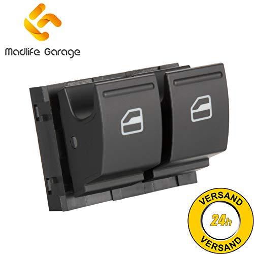 Madlife Garage 1K3959857A Fensterheber Schaltelement Fensterheberschaltelement Schalter Vorne Links Golf Plus Golf V