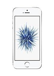 """Apple iPhone SE, 4"""" Display, 128 GB, 2016, Silber (Generalüberholt)"""