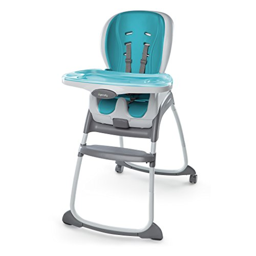Ingenuity Trio Smart Clean High Chair (Aqua, 3-in-1) Test