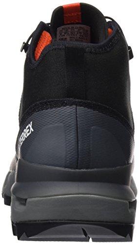 adidas Terrex Fast Mid Gtx-Surround, Chaussures de Randonnée Hautes Homme Noir (Core Black/core Black/vista Grey)