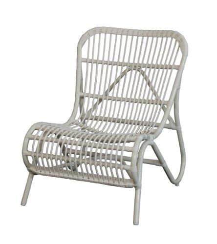 Moderner OUTDOOR Liege-Stuhl 'Holiday' im Retro-Design / Garten-Sessel aus stabilem Aluminium in...