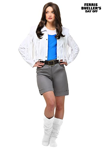 Ferris Bueller's Day Off Sloane Peterson Fancy Dress Costume