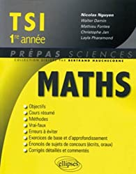 Mathématiques TSI 1e année