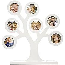 Pearhead P62111 - Marco árbol genealógico, color blanco