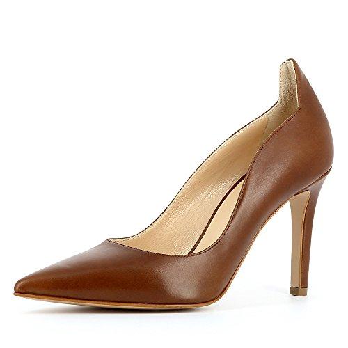 Evita Shoes - Natalia, Scarpe col tacco Donna Marrone (Cognac)