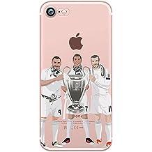 Funda iPhone 6/6S Fútbol - Cristiano Ronaldo / Karim Benzema / Gareth Bale (BBC) - Réal Madrid - UEFA Champions League (UCL)