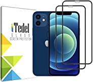 iTedel [2 PACK] Screen Protector for iPhone 12 iPhone 12 Pro 6.1 inches 2020, (Anti-Fingerprint & Anti-Scr