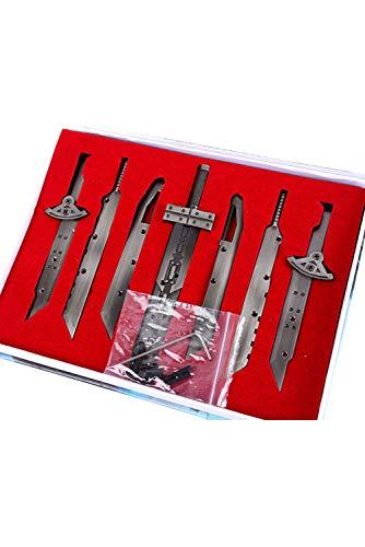 Final Fantasy 7 Cloud Buster Sword Schwert Mini Replica 7 Stück (Cloud-final Fantasy-kostüm)
