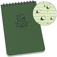 Rite In The Rain Carnet Etanche Vert Olive 10 x 15 cm - Vert Olive - Papier Etanche - 10 x 15 cm - 100