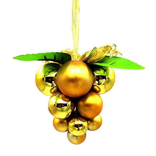 Eizur Natale Uva Sfera String Natale Decorazione