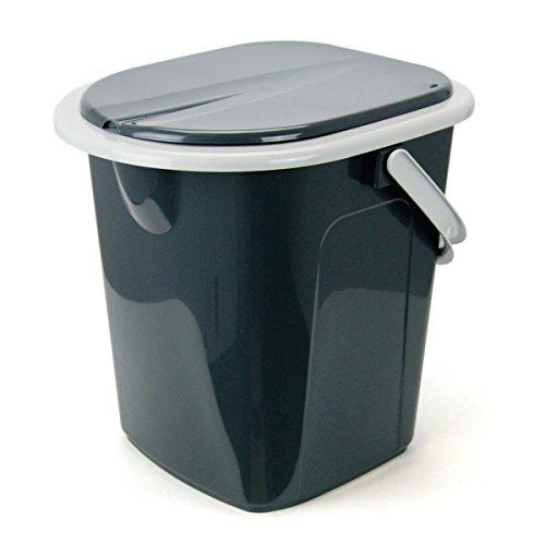 Mobile Campingtoilette WC 22 Liter Toiletteneimer Reise Toilette Komposttoilett
