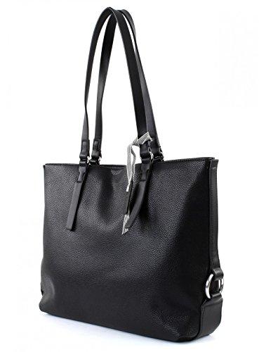 Esprit Cheryl Shopper Tasche 36 Cm Nero