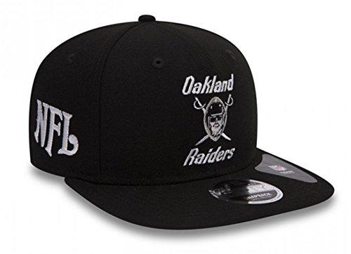 New Era Oakland Raiders - 9fifty - Silver & Black Attack - Snap Back