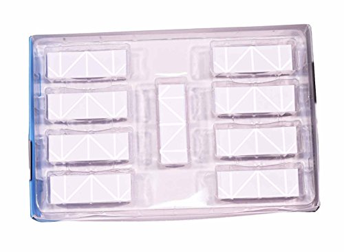 3D Origami Papier, bunt, mit Rillen auf Faltlinien–500Stück–einfache und schnelle Faltung–für 3D-Origami-Module auf 1/32 Grundlage,vergleichbar mit A490G-Blatt - Hochwertiges italienisches Papier, ohne Chlorin und gesundheitsschädliche Zusatzstoffe–Hergestellt in Italien–CE - Bianco 03